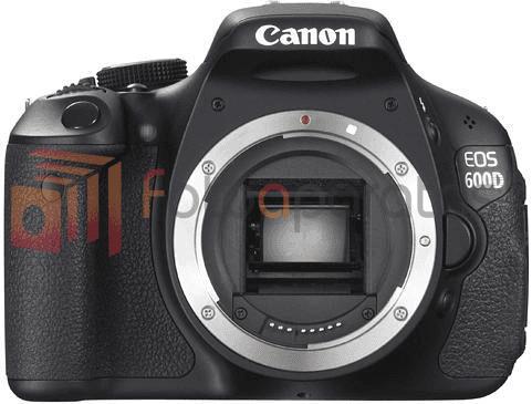 veidrodinis fotoaparatas canon eos 600d body
