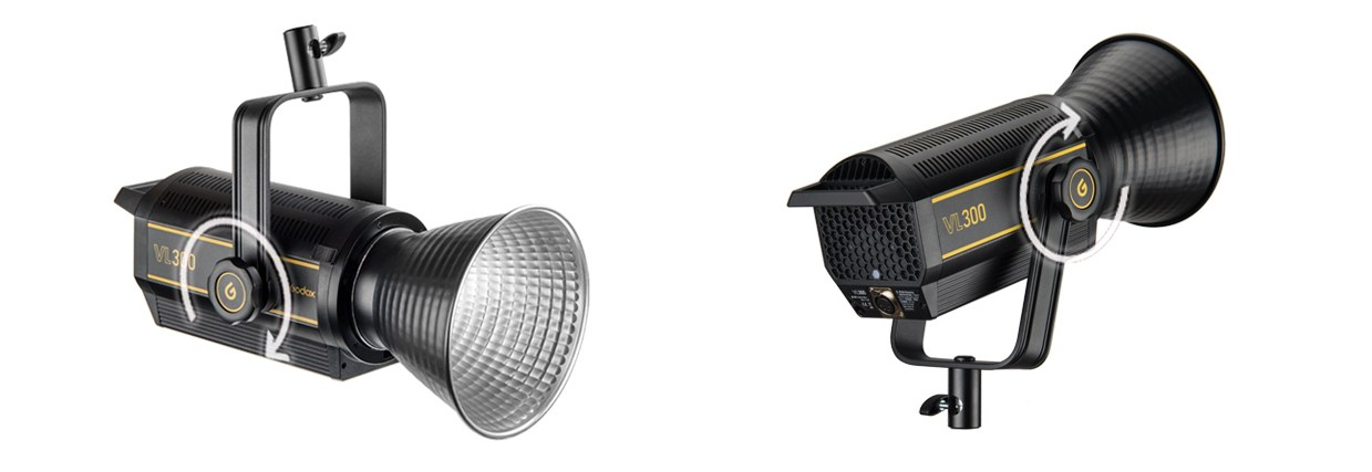 Lempa Godox VL300 LED
