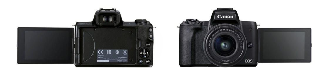 EOS M50 Mark IIEOS M50 Mark II GET PRODUCT SUPPORT EOS M50 Mark II EF-M 15-45mm