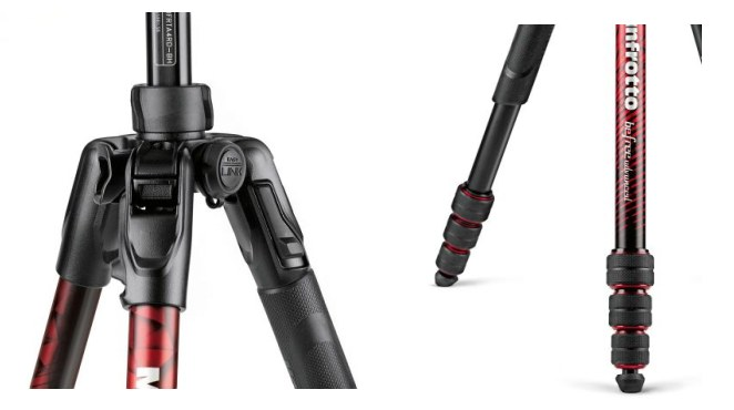 Manfrotto Befree Advanced Aluminum Twist Red MKBFRTA4RD-BH