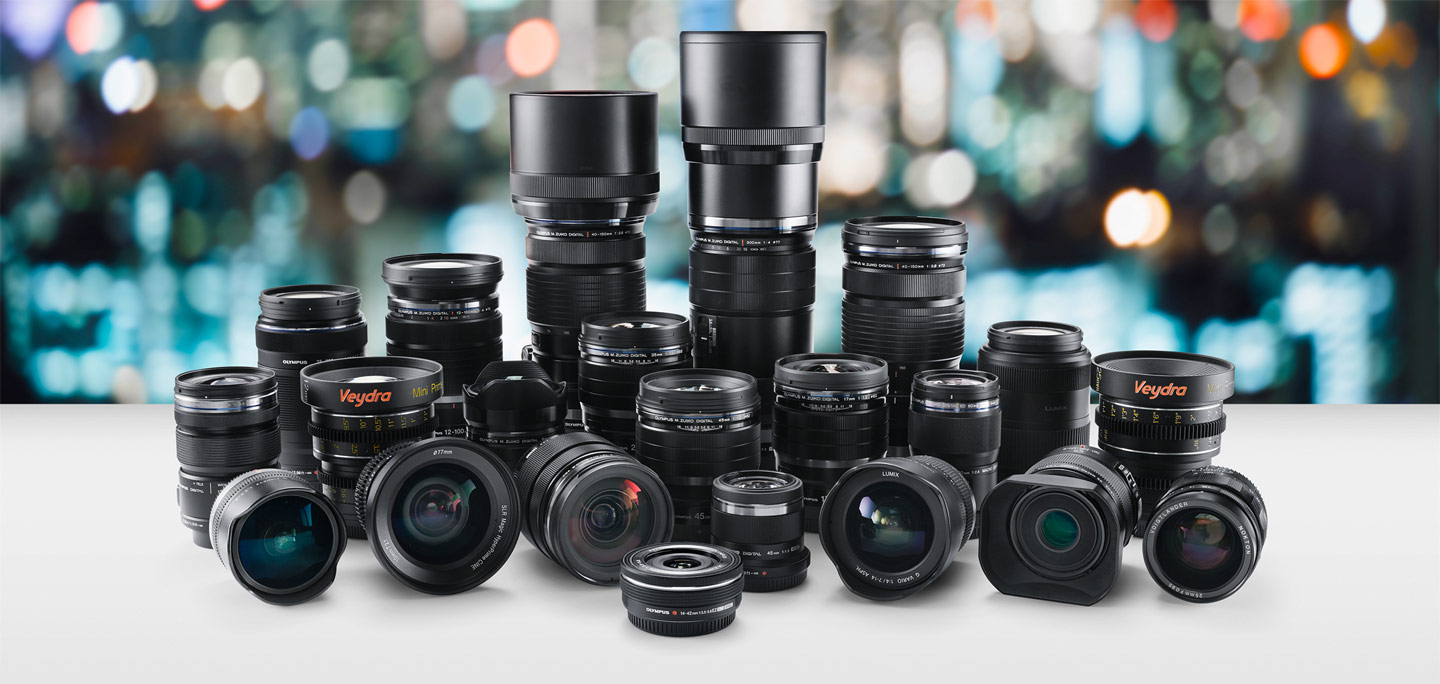 Lenses for Blackmagic