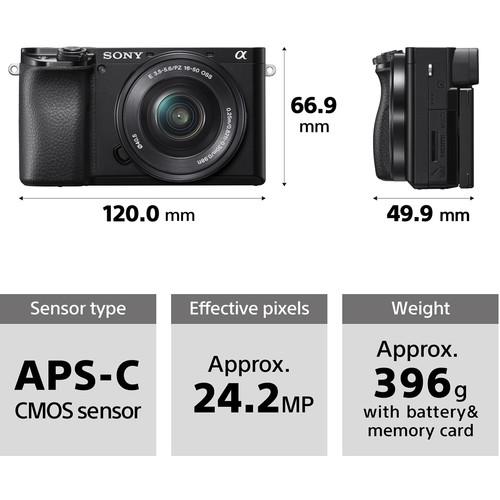 Sony alpha 6100 sisteminis foto apartas