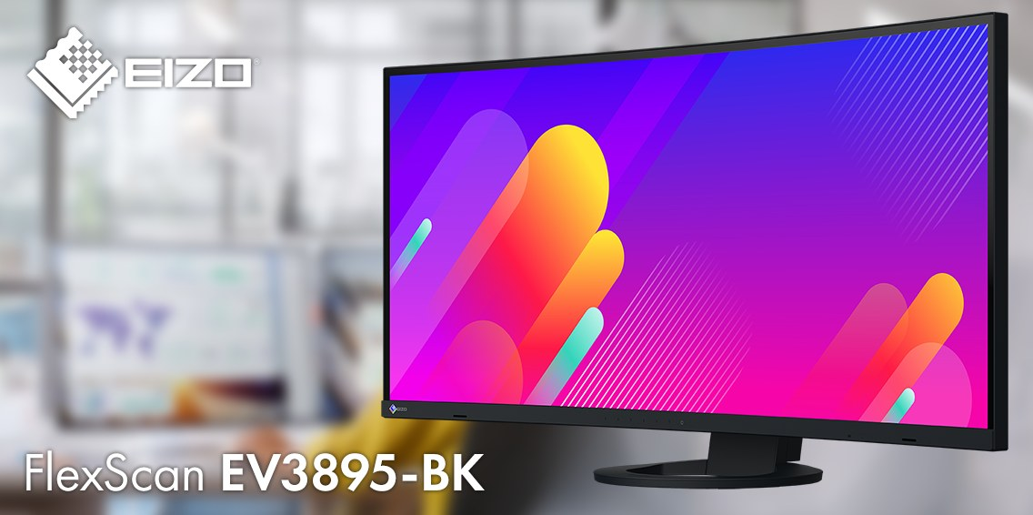 EIZO FlexScan EV3895 - Black monitorius