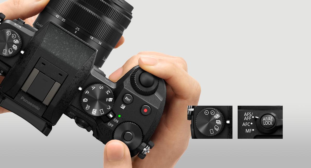 Panasonic DMC-G7 + 14-42mm (Juodas)