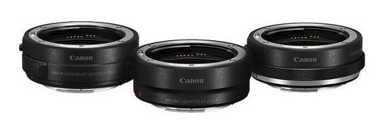 Canon adapteriai EOS R