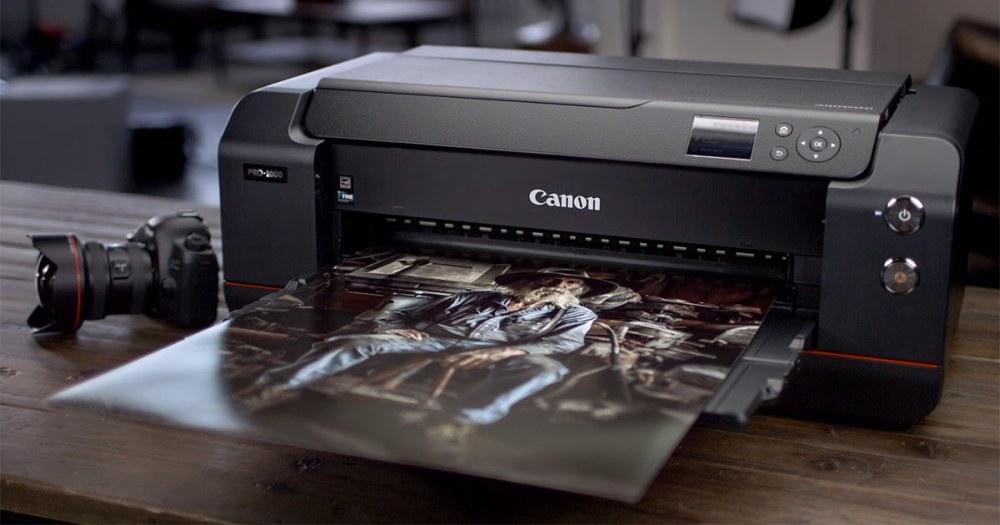 Canon imagePROGRAF PRO-1000 kokybe