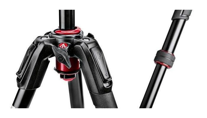 190go! MS Aluminium Tripod kit 4-Section MK190GOA4-BHX