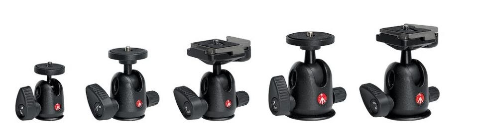 Manfrotto Compact Ball Head RC2 Plate 496RC2