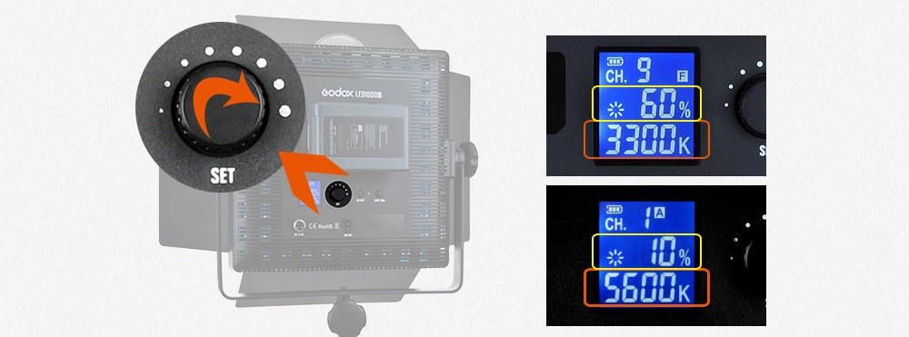 Godox LED500C Bi-Color