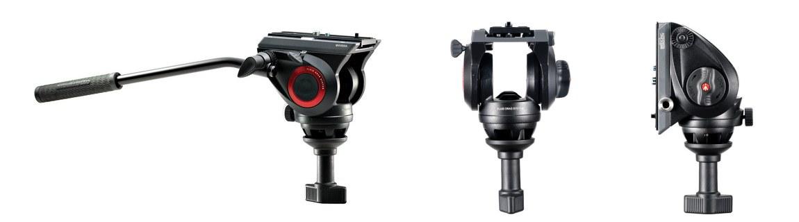 Manfrotto 500 Fluid Video Head MVH500A trikojo galva