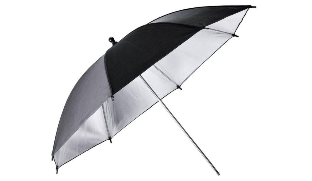 Godox UB-002 Umbrella Black Silver 84cm