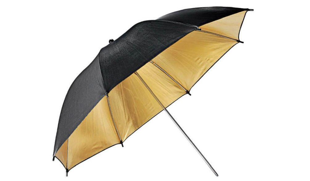 GODOX UB-003 Umbrella Black Gold 84cm