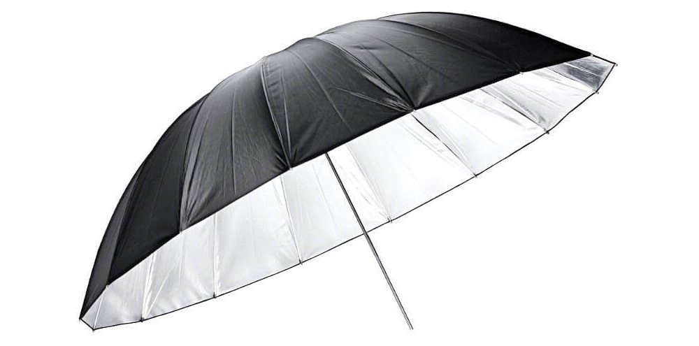 Umbrella GODOX UB-L3 75 black silver large 185cm