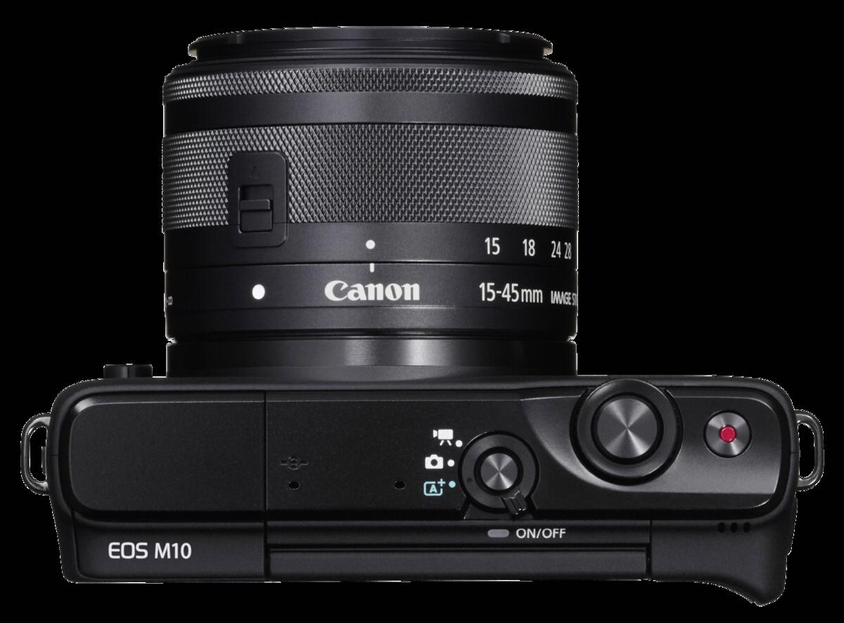 Sisteminis Fotoaparatas Canon Eos M10 15 45mm Ef M M3 Kit M15 Kamera Mirrorless