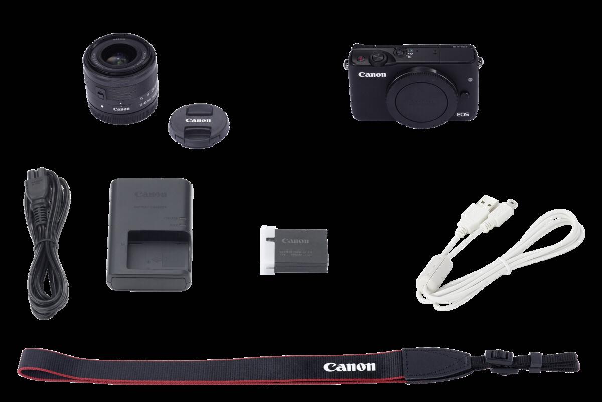 Sisteminis Fotoaparatas Canon Eos M10 15 45mm Ef M Kit 45 Is Stm 10