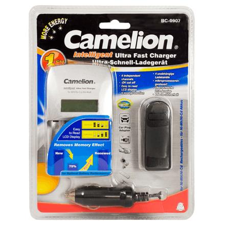 Baterijų įkroviklis Camelion Ultra Fast Charger Bc 0907