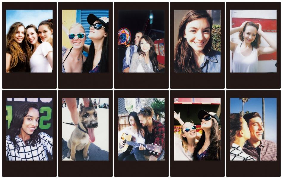 Foto plokštelės Fujifilm Instax mini BLACK FRAME