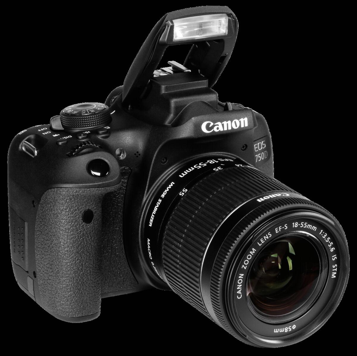 veidrodinis fotoaparatas canon eos 750d 18 55mm is stm komplektas. Black Bedroom Furniture Sets. Home Design Ideas