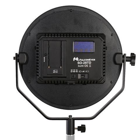 Falcon Eyes Bi-Color LED Lamp Sophiez SO-28TD on 230V