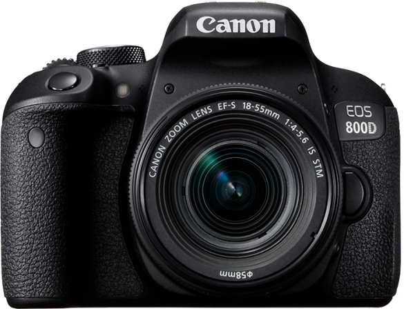 Canon EOS 800D + 18-55 IS STM