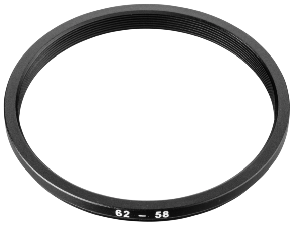 Hama Adapter 58 mm Filter to 62 mm Lens 16258
