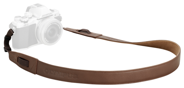 Olympus CSS-S119L Strap leather brown