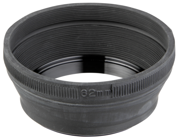 Objektyvo blenda Hama Rubber Lens Hood 62 for Standard Lenses 93362