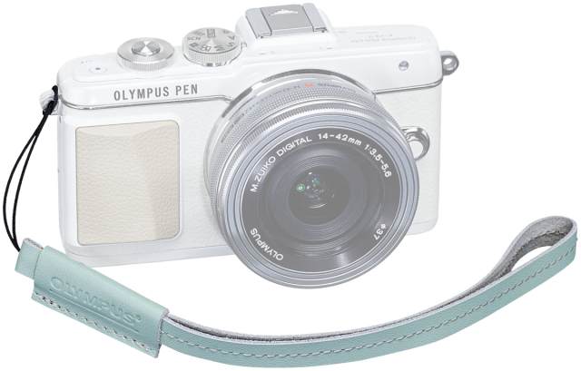 Olympus Hand Strap a hint of mint