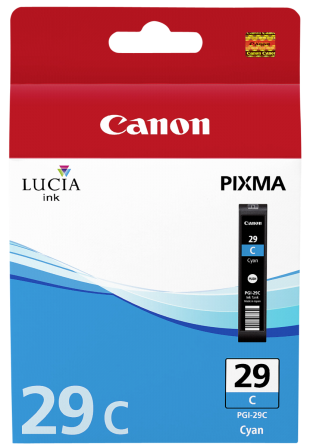 CAN PGI-29 Cyan Ink Cart. for Pixma PRO-1 (36ml)