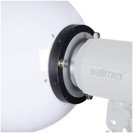 walimex Spherical Diffuser 40cm with Universal Adapter System
