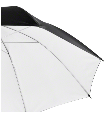 walimex pro Reflex Umbrella black/white, 109cm