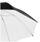 walimex pro Reflex Umbrella black/white, 84cm