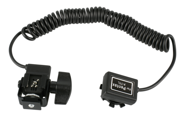 walimex Flash Extension Cord Pentax P-TTL, 1/4 Inch