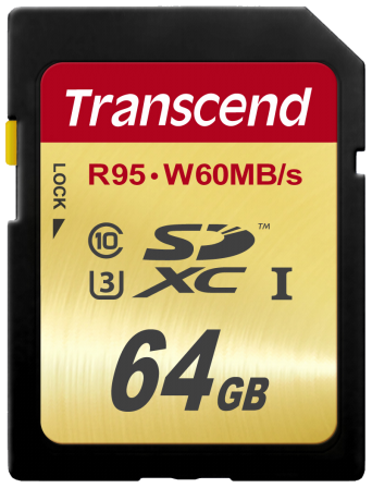 Transcend SDXC 64GB Class10 UHS-I U3 Ultimate