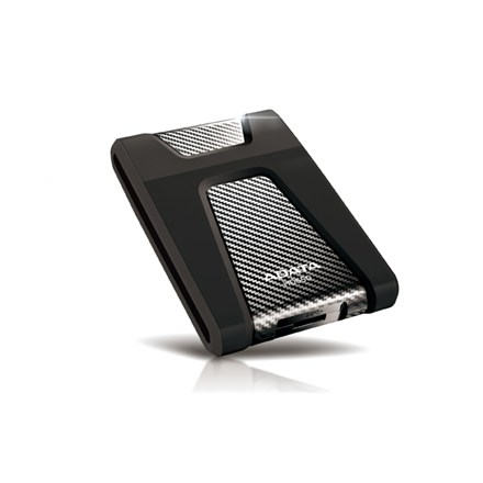 "Kietasis diskas A-DATA 1TB USB3.0 Portable Hard Drive HC650 DashDrive Choice(2.5""), Black"