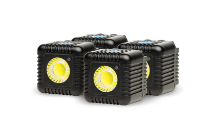 LUME CUBE - QUAD PACK (GUNMETAL GREY)