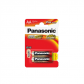 Panasonic PRO POWER GOLD Alkaline AA  (LR6PPG), 2-pack