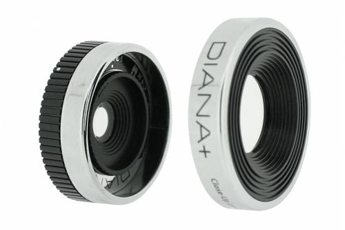 The 55mm Diana+ Wide & Close-Up Lens