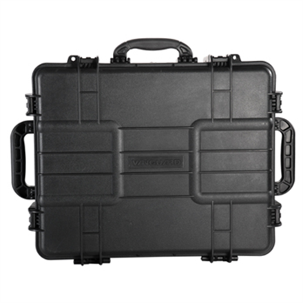 Vanguard SUPREME 53D/ Waterproof (up to a depth of 16.5 feet/5 meters)/ Airtight (-40°F/-40°C to 203°F/95°C)/ up to 265 lbs/120 kg/ Two storage levels / Steel-reinforced lock holders, Max loading weight 35 kg, Divider Bag inside