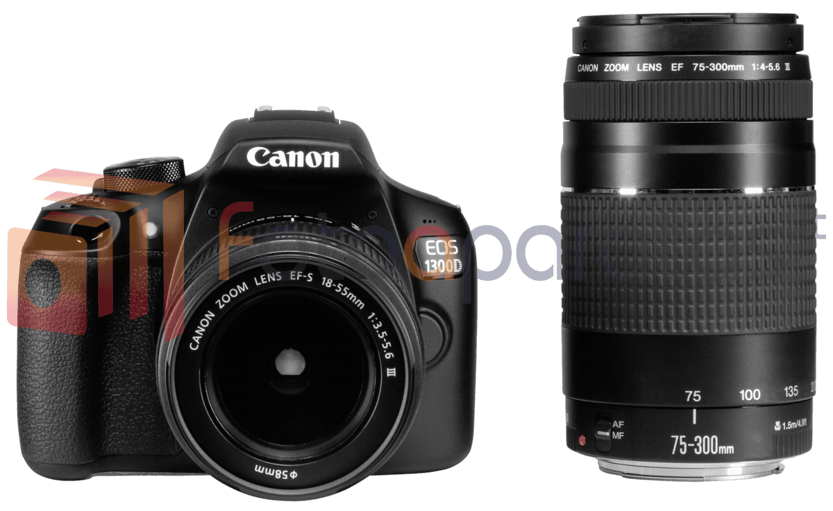 how to change lenses of canon eos 1300d dslr camera